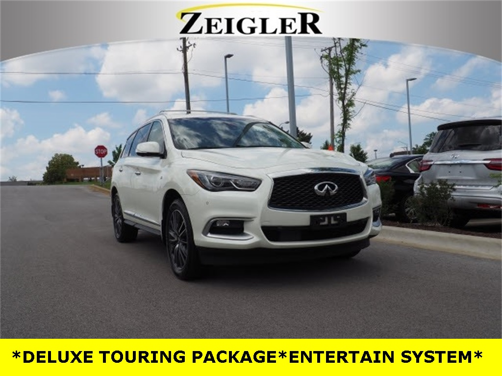 Pre-Owned 2016 INFINITI QX60 DELUXE TOURING PACKAGE