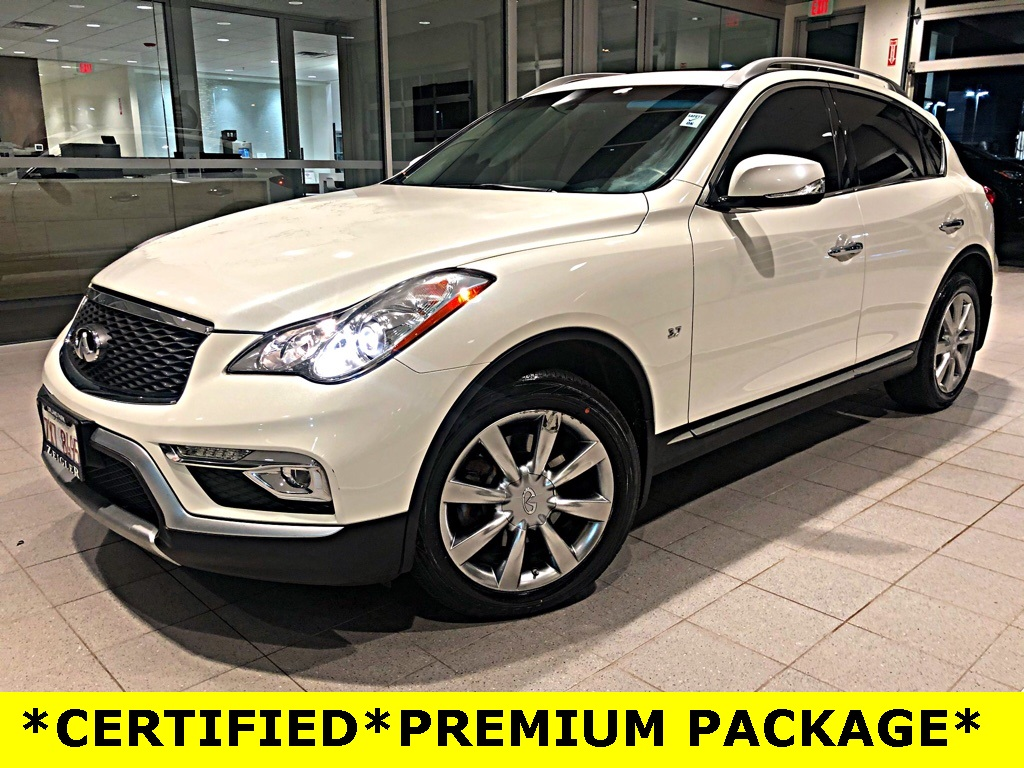 Certified Pre-Owned 2017 INFINITI QX50 PREMIUM PACKAGE