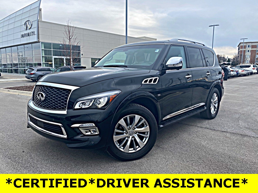 Certified Pre-Owned 2016 INFINITI QX80 SIGNATURE EDITION