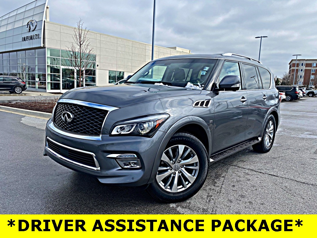 Pre-Owned 2016 INFINITI QX80 W/ DRIVER ASSISTANCE PACKAGE