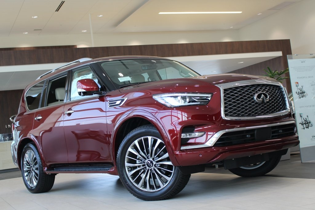 New 2020 INFINITI QX80 LUXE 4WD SUV for Sale #17053 ...