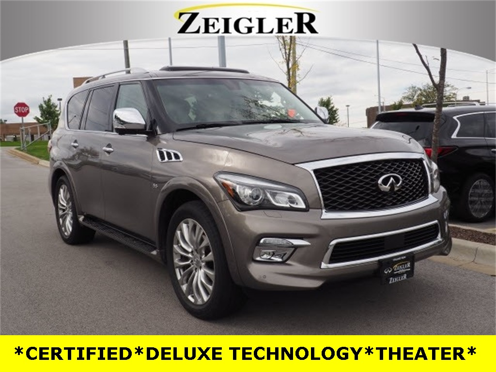 Certified Pre-Owned 2016 INFINITI QX80 DELUXE TECHNOLOGY