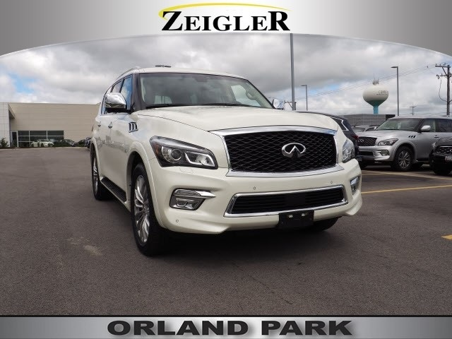 Certified Pre-Owned 2017 INFINITI QX80 DELUXE TECHNOLOGY