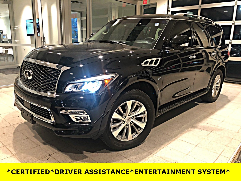 Certified Pre-Owned 2016 INFINITI QX80 DRIVER ASSISTANCE