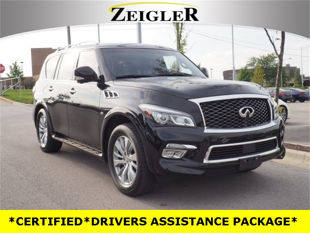 Certified Pre-Owned 2016 INFINITI QX80 DRIVERS ASSISTANCE PACKAGE
