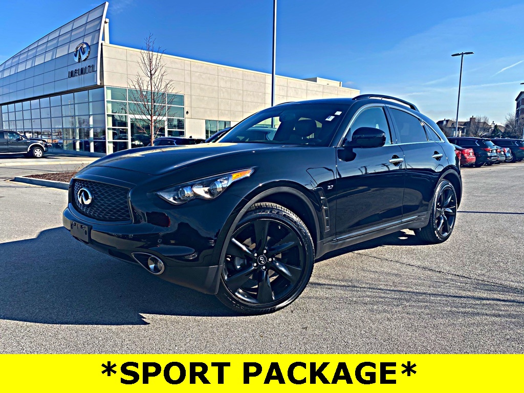 Pre-Owned 2017 INFINITI QX70 SPORT PACKAGE