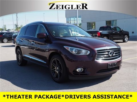 Pre-Owned 2013 INFINITI JX35 PREMIUM PACKAGE