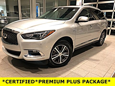 Certified Pre-Owned 2017 INFINITI QX60 PREMIUM PLUS PACKAGE