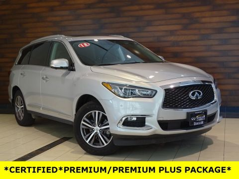 Certified Pre-Owned 2018 INFINITI QX60 PREMIUM PLUS