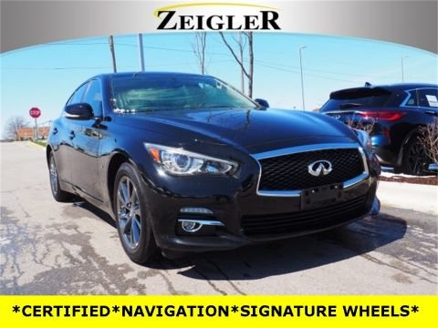 Certified Pre-Owned 2015 INFINITI Q50 SIGNATURE EDITION