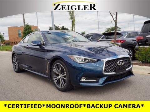 Certified Pre-Owned 2018 INFINITI Q60 3.0t LUXE