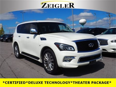Pre-Owned 2016 INFINITI QX80 DELUXE TECHNOLOGY
