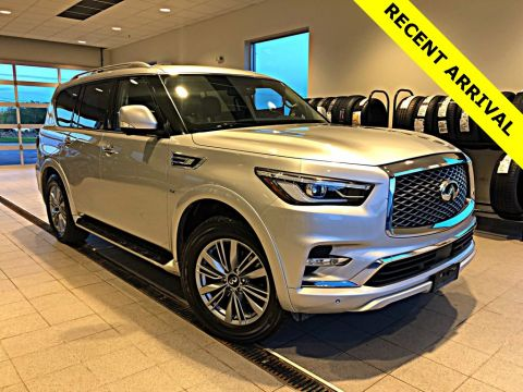 Certified Pre-Owned 2018 INFINITI QX80 W/ NAVIGATION