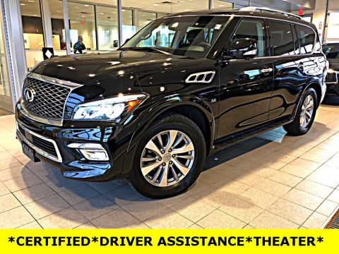 Certified Pre-Owned 2015 INFINITI QX80 DRIVER ASSISTANCE PACKAGE