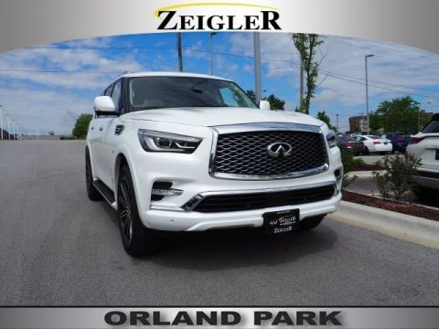 Certified Pre-Owned 2018 INFINITI QX80 DRIVERS ASSISTANCE