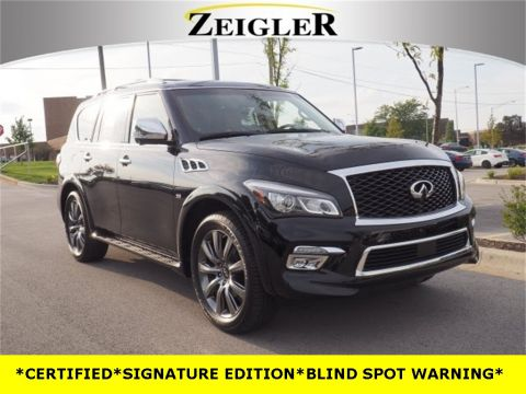 Certified Pre-Owned 2017 INFINITI QX80 Signature Edition