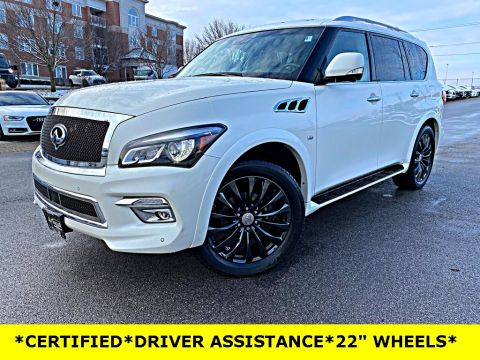 Certified Pre-Owned 2017 INFINITI QX80 DRIVERS ASSISTANCE PACKAGE